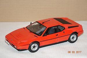 【送料無料】模型車 モデルカー スポーツカー オレンジbmw m1 1978 orange 118 norev neu amp; ovp 183222