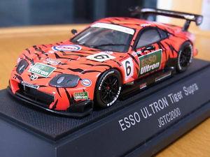 【送料無料】模型車 モデルカー スポーツカー トヨタスープラトラebbro 143 toyota supra 6 tiger ultron jgtc 2000