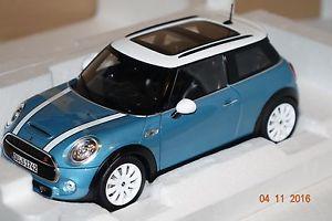 【送料無料】模型車 モデルカー スポーツカー ミニクーパーmini cooper s 2015 blauwei 118 norev neu amp; ovp 183111
