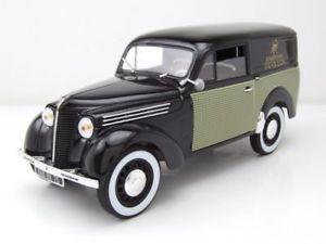 【送料無料】模型車 モデルカー スポーツカー ルノーブラックモデルカーrenault 300 kg parfums revillon 1953 schwarz, modellauto 118 norev