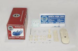 【送料無料】模型車 モデルカー スポーツカー キットスカラland speed record car herda 999 1964 kit scala 143