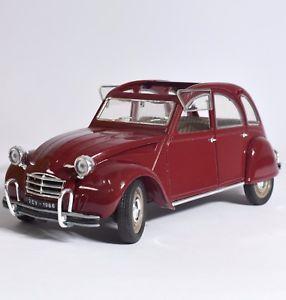 【送料無料】模型車 モデルカー スポーツカー シトロエンクラレットダックカルトレッド
