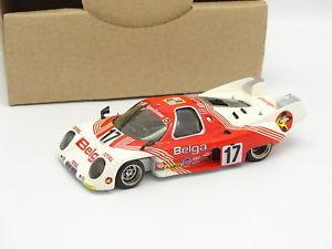 【送料無料】模型車 モデルカー スポーツカー キットメタルモンルマンamr gyl kit mtal mont sb 143 rondeau m379b le mans 1980 belga n17