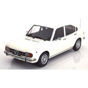 【送料無料】模型車 モデルカー スポーツカー アルファロメオホワイトスケールalfa romeo alfasud 13 1972 white 118 180022 kk scale