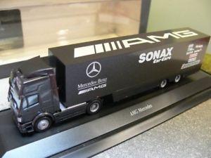 【送料無料】模型車 モデルカー スポーツカー skケーストター187 herpa mb sk amg sonax 1996 kersattelzug 225540