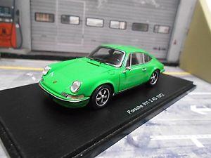 【送料無料】模型車 モデルカー スポーツカー ポルシェクーペグリーングリーンモデルスパークporsche 911 24 s coupe 1972 grn green f modell resin spark 143