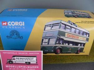 【送料無料】模型車 モデルカー スポーツカー コーギーノッティンガムトロリーバスセット150 corgi nottingham city transport daybrook karrier w trolleybus set 34701