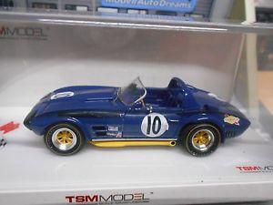 【送料無料】模型車 モデルカー スポーツカー シボレーコルベットスポーツペンスキーchevrolet corvette c2 grand sport roadsster 1966 penske sebri sp resin tsm 143