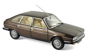 【送料無料】模型車 モデルカー スポーツカー ルノーブラウンメタリックrenault 30 tx 1981 braun metallic 118 norev 185271 neu amp; ovp