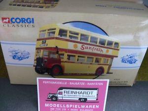 【送料無料】模型車 モデルカー スポーツカー コーギーダイムラーユーティリティバスダグラス150 corgi daimler cw utility bus douglas corporation sunfresh 97829