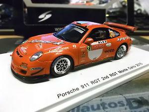 【送料無料】模型車 モデルカー スポーツカー ポルシェグアテマラモンテカルロラリーデュマ#スパークporsche 911 997 gt3 rs wm rallye monte carlo 2015 dumas rgt 23 spark res 143