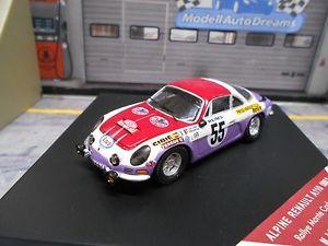 【送料無料】模型車 モデルカー スポーツカー ルノーアルパインモンテカルロラリー#ジュリアンrenault alpine a110 1800 s rallye monte carlo 1973 55 julien esso trofeu 143