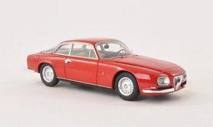 【送料無料】模型車 モデルカー スポーツカー アルファロメオスプリントモデルネオスケールモデルalfa romeo 2600 sprint zagato 1967 red 143 model neo scale models