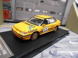 【送料無料】模型車 モデルカー スポーツカー スバルレガシィインプレッサラリースウェーデン#クラリオンsubaru legacy impreza rs rallye schweden eklund 1992 11 clarion hpi rar 143