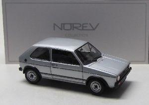 【送料無料】模型車 モデルカー スポーツカー ゴルフシルバーvw golf 1 gti 1976 silber met norev 118