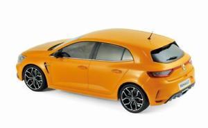 【送料無料】模型車 モデルカー スポーツカー ルノーメガーヌトニックオレンジコレクションrenault mgane rs tonic orange de 2017 voiture de collection norev 118
