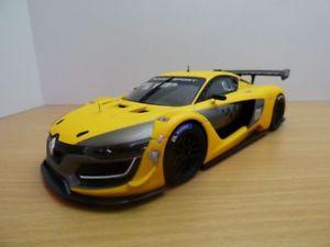 【送料無料】模型車 モデルカー スポーツカー ルノーメガーヌrenault megane rs01 jaune 118
