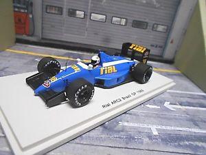 【送料無料】模型車 モデルカー スポーツカー リアルアークフォードブラジルグランプリ#ダナースパークf1 rial arc2 ford v8 brazil gp 1989 stp 38 danner spark resin 143