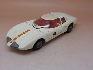 【送料無料】模型車 モデルカー スポーツカー モンツァクモブランドtekno monza gt spider rf 931 blanc excellent etat dorigine 143 1965