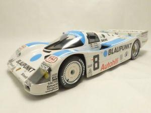 【送料無料】模型車 モデルカー スポーツカー ポルシェドゥルマンporsche 962c 3eme 24h du mans 1988 118