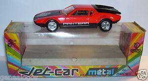 【送料無料】模型車 モデルカー スポーツカー ジェットカーフランスドグアテマラnorev jet car metal made france 1973 pantera de tomaso gt4 competition ref 8291