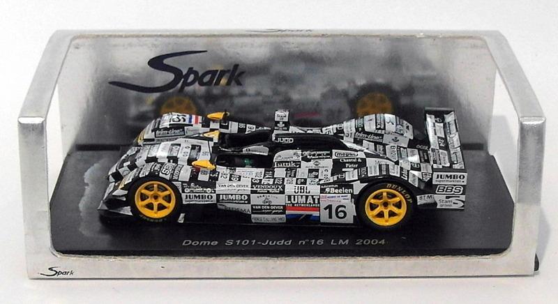 【送料無料】模型車 モデルカー スポーツカー スパークスケールドームジャッド#spark 143 scale s0056 dome s101judd 16 lm 2004