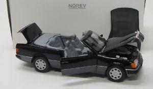 【送料無料】模型車 モデルカー スポーツカー メルセデスベンツwブラックmercedes benz 300 ce24 w124 1990 schwarz norev 118