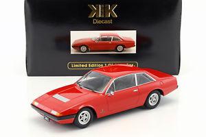 【送料無料】模型車 モデルカー スポーツカー フェラーリグアテマラスケールferrari 365 gt4 22 baujahr 1972 rot 118 kkscale
