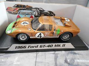 【送料無料】模型車 モデルカー スポーツカー フォードルマン#デイトナシェルビーグッズford gt40 mkii 2 le mans 4 1966 daytona shelby collectibles 118
