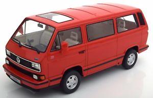【送料無料】模型車 モデルカー スポーツカー スケールバスロードkk scale vw bus t3 multivan limited last edition rot neu amp; ovp 118