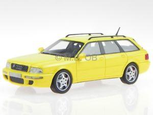 【送料無料】模型車 モデルカー スポーツカー アウディモデルカーネオaudi 80 b4 rs2 avant gelb modellauto 43364 neo 143