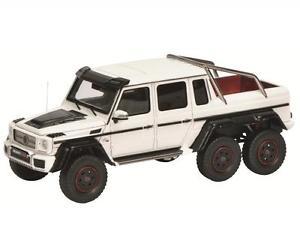 【送料無料】模型車 モデルカー スポーツカー ホワイト08902 schuco pror 43 143 brabus b63 s 700 6x6 wei