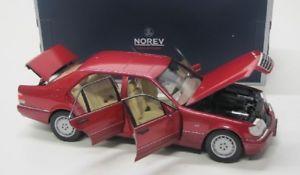 【送料無料】模型車 モデルカー スポーツカー メルセデスベンツレッドmercedes benz s500 1997 rot met norev 118