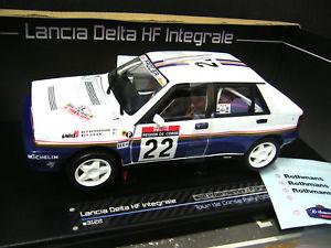 【送料無料】模型車 モデルカー スポーツカー ランチアデルタサンスターラリーlancia delta integrale rallye tdc bernardini rothm an sst sunstar rare 118