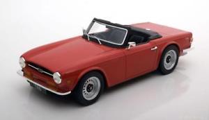 【送料無料】模型車 モデルカー スポーツカー グッズtriumph tr6 red  118 ls collectibles