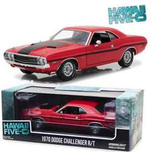 【送料無料】模型車 モデルカー スポーツカー ライトダッジチャレンジャーハワイgreenlight 118 13516 1970 dodge challenger rt hawaii five0 neu