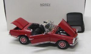 【送料無料】模型車 モデルカー スポーツカー メルセデスベンツwレッドmercedes benz 280 sl pagode  w113 1969 rot norev 118