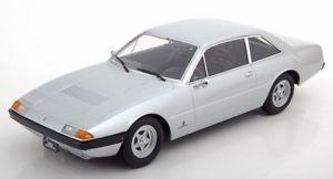 【送料無料】模型車 モデルカー スポーツカー スケールフェラーリグアテマラ118 kkscale ferrari 365 gt4 22 1972 silver