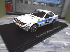 【送料無料】模型車 モデルカー スポーツカー ポルシェモンテカルロラリー#バルトデータスパークporsche 924 gts rallye monte carlo 1979 40 barth datacom spark resin 143