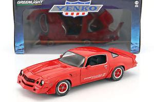 【送料無料】模型車 モデルカー スポーツカー シボレーターボランプchevrolet z28 yenko turbo z baujahr 1981 rot 118 greenlight