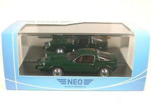 【送料無料】模型車 モデルカー スポーツカー ソネットsaab sonett ii v4 green 1966