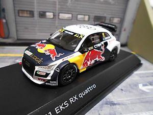 【送料無料】模型車 モデルカー スポーツカー アウディクワトロラリー#ブルスパークaudi s1 eks quattro rallye ex rallycross 1 ekstrm r bull spark dealer 143