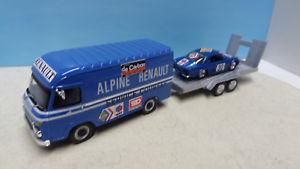 【送料無料】模型車 モデルカー スポーツカー ルノーアシスタンスラリーアルパインassistance rallye renault saviem alpine 110 n30 143