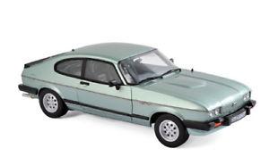 【送料無料】模型車 モデルカー スポーツカー フォードカプリインジェクションford capri mk iii 28 injection 1982 norev 118 grnmet 182719