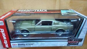 【送料無料】模型車 モデルカー スポーツカー フォードマスタングシェルビー1967 ford mustang shelby gt500 118 autoworld ertl