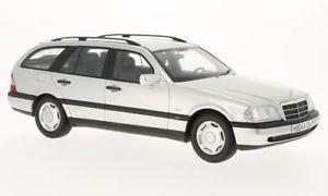 【送料無料】模型車 モデルカー スポーツカー メルセデスモデルシルバーボスモデルmercedes c220 tmodell s202, silber, 118, bosmodels