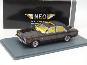 【送料無料】模型車 モデルカー スポーツカー ネォードブランneo 143 ford taunus gxl brun mtal