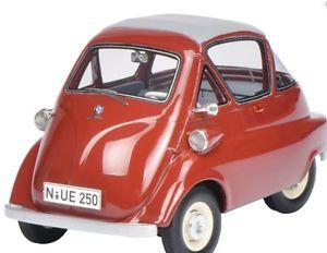 【送料無料】模型車 モデルカー スポーツカー レッドschuco bmw isetta standard rot 08956 132 neu