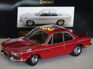 【送料無料】模型車 モデルカー スポーツカー クーペレッドスケールbmw 2000 cs coupe 1965 rot 118 kk scale 180122 neu amp; ovp