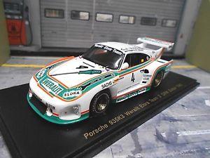 【送料無料】模型車 モデルカー スポーツカー ポルシェクレーメルスパーク#porsche 935 k3 kremer weralit elora drm 1980 zolder 4 dren gr5 spark 143